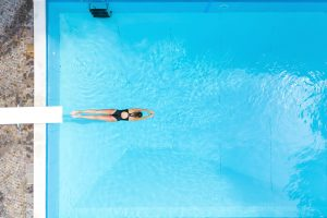 Psychological effects of swimming